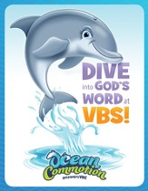Ocean Commotion VBS Invitation Postcard (Pack of 40)
