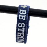 Be Strong, Canvas Bracelet