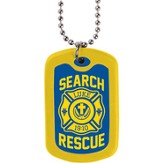 On Patrol, Dog Tag Necklace