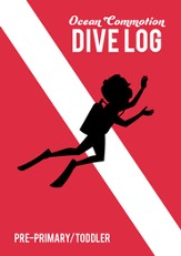 Ocean Commotion VBS Dive Log & Stickers: Pre-Primary/Toddler  KJV (Pack of 10)