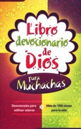 Libro Devocionario de Dios para Muchachas  (God's Little Devotional Book for Girls)