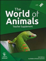 God's Design for Life: The World of  Animals Teacher Guide  (4th Editiion)