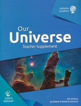 God's Design for Heaven and Earth: Our Universe Teacher  Guide (4th Edition) - Slightly Imperfect