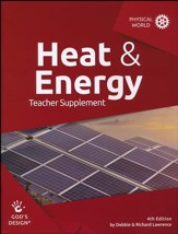 God's Design for the Physical World: Heat & Energy Teacher  Guide (4th Edition) - Slightly Imperfect
