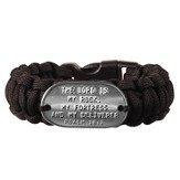 Survival Bracelet, Black