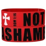 Not Ashamed Silicone Bracelet