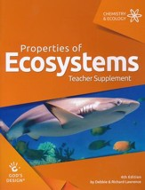God's Design for Chemistry & Ecology: Properties of  Ecosystems Teacher Guide (4th Edition)