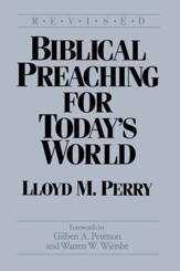 Biblical Preaching for Today's World / Digital original - eBook