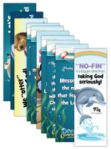Ocean Commotion VBS Bookmark: Animal Pals KJV (2 Sets of 5)