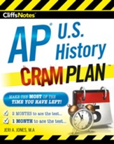 CliffsNotes AP U.S. History Cram Plan / New edition