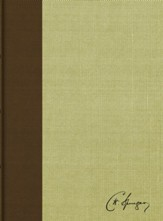 RVR 1960 Biblia de estudio Spurgeon, marron claro en tela (Spurgeon Study Bible, brown/tan cloth over board)