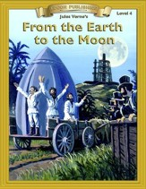 From the Earth to the Moon: Easy Reading Classics Adapted and Abridged - eBook