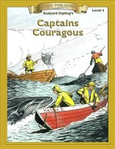Captains Courageous: Easy Reading Classics Adapted and Abridged - eBook
