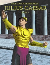 Julius Caesar: Easy Reading Shakespeare in 10 Illustrated Chapters - eBook