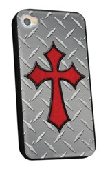 Treadplate Cross iPhone 4/4S Case