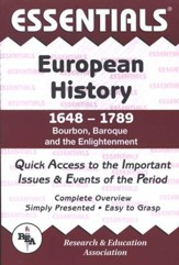 Essentials - European History: 1648 to 1789