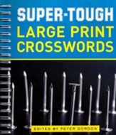 Super-Tough Large Print Crosswords