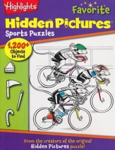 Favorite Sports Puzzles: Highlights Hidden Pictures