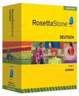 Rosetta Stone German Level 1 with Audio Companion Homeschool Edition, Version 3