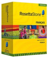 Rosetta Stone French Level 1 with Audio Companion Homeschool Edition, Version 3