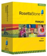 Rosetta Stone French Level 3 with Audio Companion Homeschool Edition, Version 3