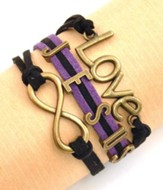 Jesus Eternal Love, Multi-Strand Bracelet