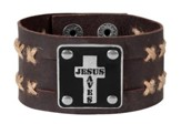 Jesus Saves, Cuff Bracelet