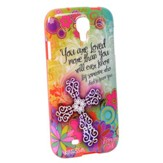 You Are Loved Floral, Galaxy 4 Phone Case