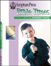 Scripture Press: 4s & 5s Bible Times Student Guide, Winter 2017-18