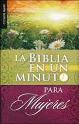 Biblia en Un Minuto para Mujeres   (One Minute Bible for Women)