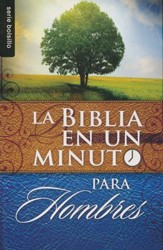Biblia en un Minuto para Hombres  (One-Minute Pocket Bible for Men)