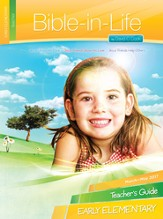Bible-in-Life Early Elementary Teacher's Guide, Spring 2017