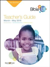 Bible-in-Life: Early Elementary Teacher's Guide, Spring 2018
