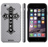 Jesus Saves, Treadplate iPhone 6 Case