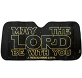 May the Lord Auto Sun Shade
