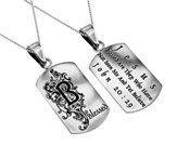 Blessed, Letter Dog Tag
