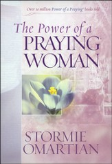 The Power of a Praying Woman Deluxe Edition hard cover padded with ribbon - Slightly Imperfect