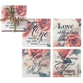 Wedding Coasters, Set of 4
