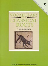 Vocabulary from Classical Roots,  Grade 5 (Homeschool  Edition)