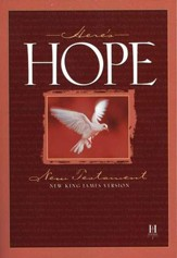 NKJV Here's Hope New Testament Paperback, case of 48