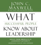 Leadership Answers To Your Toughest Questions, Unabridged 3 CD's