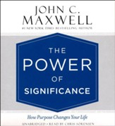 The Power of Significance, Unabridged Audio CD (4-CD's)