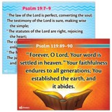 Answers Bible Curriculum Year 1 Quarter 1 Memory Verse Posters Set of 2, Grades 1-6