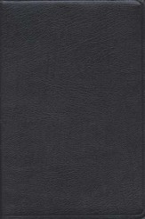 KJV/Amplified Parallel Bible, Bonded leather, black  - Slightly Imperfect