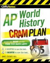 CliffsNotes AP World History Cram  Plan / New edition