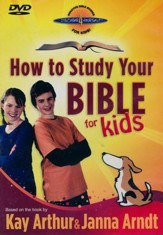 How to Study Your Bible for Kids, DVD