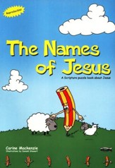 The Names of Jesus: A Scripture Puzzle Book About Jesus