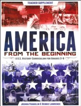 America from the Beginning, Teacher Guide and CD-ROM - Slightly Imperfect