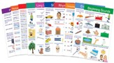 Language Arts Visual Learning Guide  Set, Grade 1 (10 Different Guides)