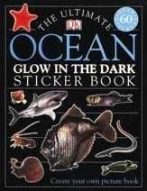 Ultimate Sticker Book: Glow in the Dark: Ocean Creatures